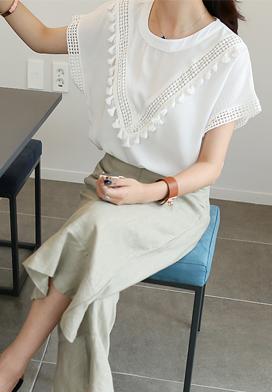 29353 - Tester蕾丝女衬衫