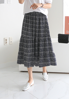 30237 - 贝拉印花裙子