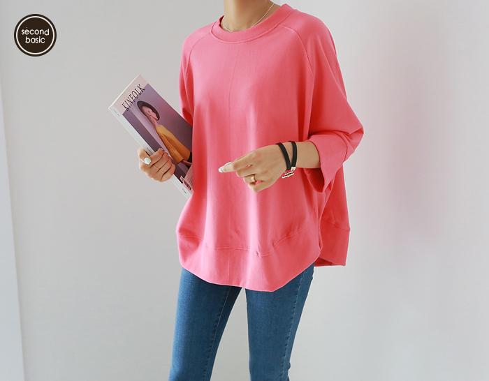 30490 - [第二基础] Anna皱印运动衫(5版)(3color)